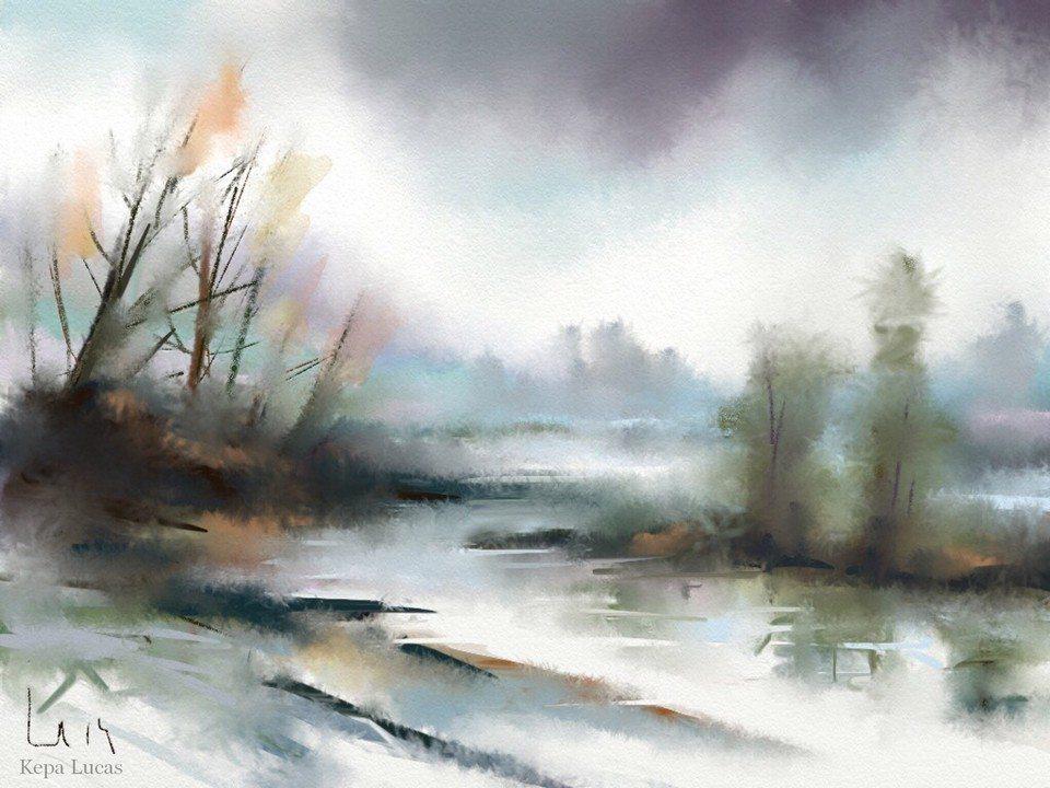 Tribute to Corot 2 by Kepa Lucas