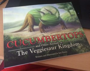 Illustration from <em>Cucumbertops and Other Animals of the Veggiesaur Kingdom</em>