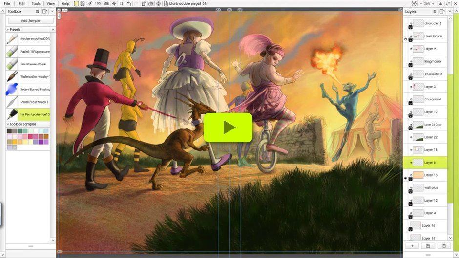 ImagineFX Video (click to play)