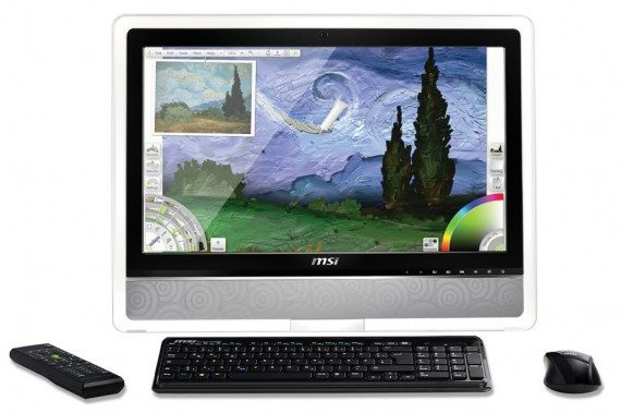 MSI Wind Top touch screen PC