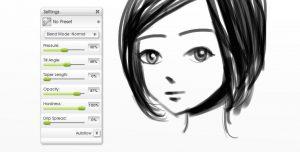 airbrush inking manga tutorial