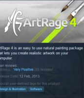 ArtRage 5 Will Not Be On Steam
