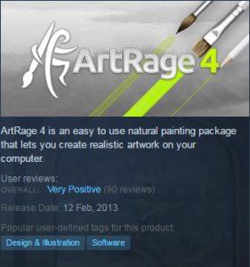 artrage 4 steam