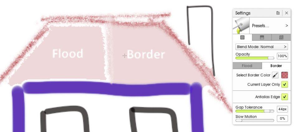 artrage 5 solid fill border 2