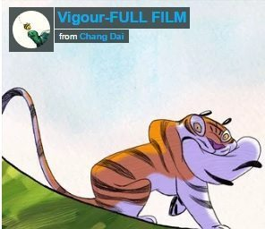 artrage animation film vigour tiger chang dai