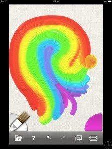 artrage canvas colours iphone