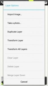 artrage for android layer transform 1