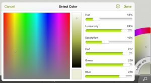 artrage for ipad 2.0 precise color picker