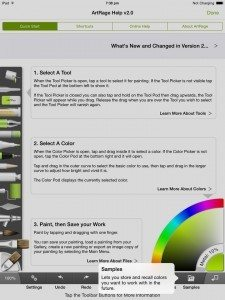 artrage for ipad 2.0 manual help files quick start guide (12)