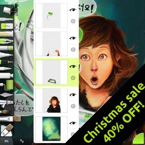 artrage for ipad 2.1 christmas sale