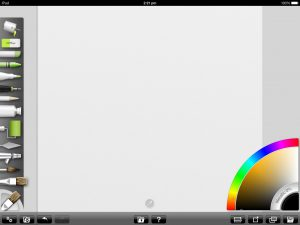 artrage for ipad default full canvas