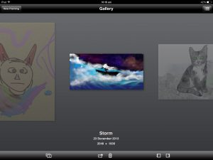 ArtRage for iPad picture gallery