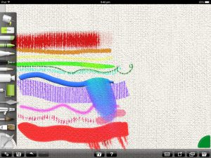 ArtRage for iPad tools
