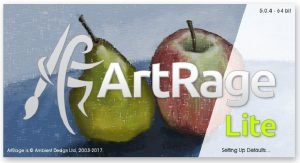 artrage lite 5 splash screen