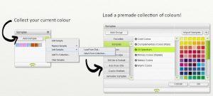 Color Samples in ArtRage Lite