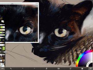 Black Cat Progress Screenshot 1 by Shelly Hanna