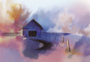 Blue Haze by Stephen Berry
