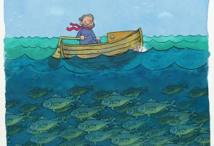boatmanandfishes by Henry Stahle
