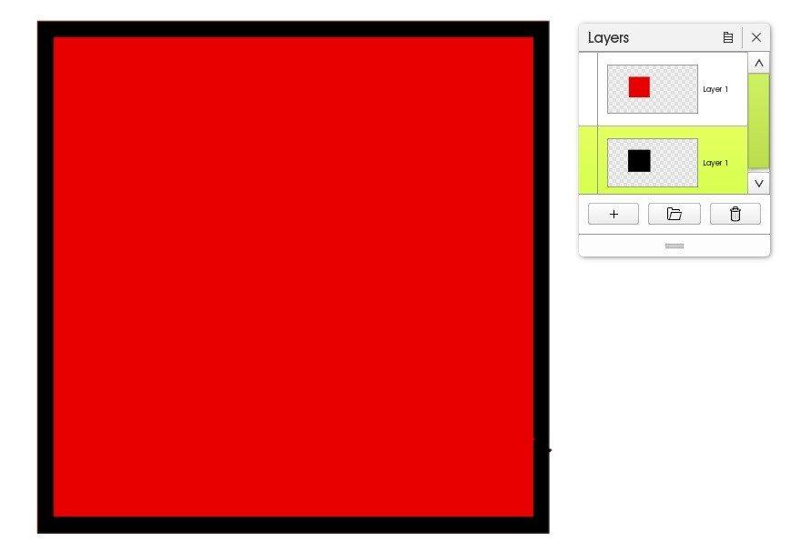 border duplicate layers artrage 5
