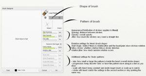brush designer 1 ArtRage 5 Custom Brush tutorial by Sav Scatola