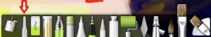 color sampler tools ArtRage for iPad 2.0