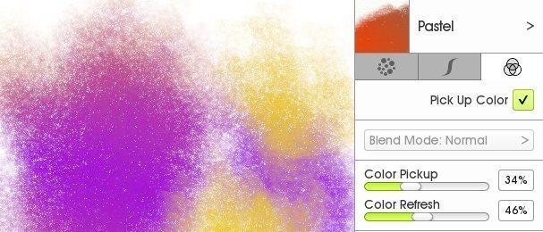 цвет подобрать нестандартную кисть дизайнера ArtRage 5