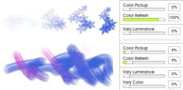 Обновление цвета пользовательских кистей дизайнер ArtRage 5