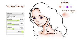 colouring felt pen art pen manga tutorial