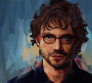 Portrait of Will Graham (Cropped) by Lauren May