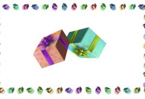 The Gift Boxes sticker spray preset