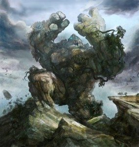 Earth Elemental by Steve Goad