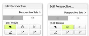 edit perspective buttons move delete artrage 5