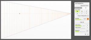 edit perspective set lines along artrage 5