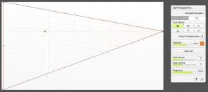 edit perspective set projectiom 100% artrage 5
