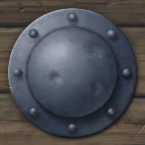 final shield boss and rivets metallic ArtRage 5 tutorial by Boxy Sav Scatola
