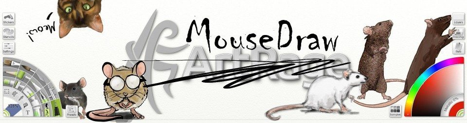 fullscreen mousedraw artrage april fools header mice