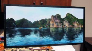 Halong Bay (traditional oil painting) by Steve Goad