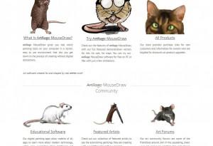 april fools mice homepage