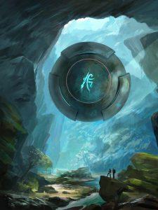 underwater cave floating sphere tutorial