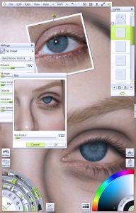 img 14 - eyelid shading portrait tutorial by Paul Hinch-Worman