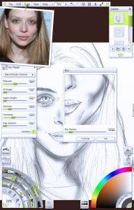 img 5 - Blur shading portrait tutorial by Paul Hinch-Worman
