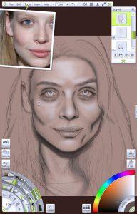 img 7 - Building definition portrait tutorial by Paul Hinch-Worman