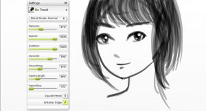 inking opacity manga tutorial