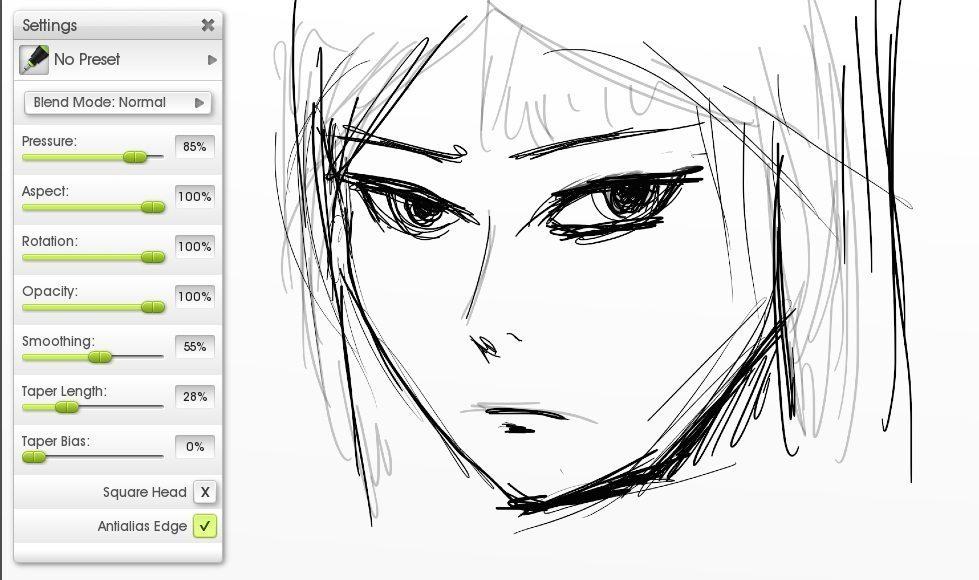 inking sketch manga tutorial