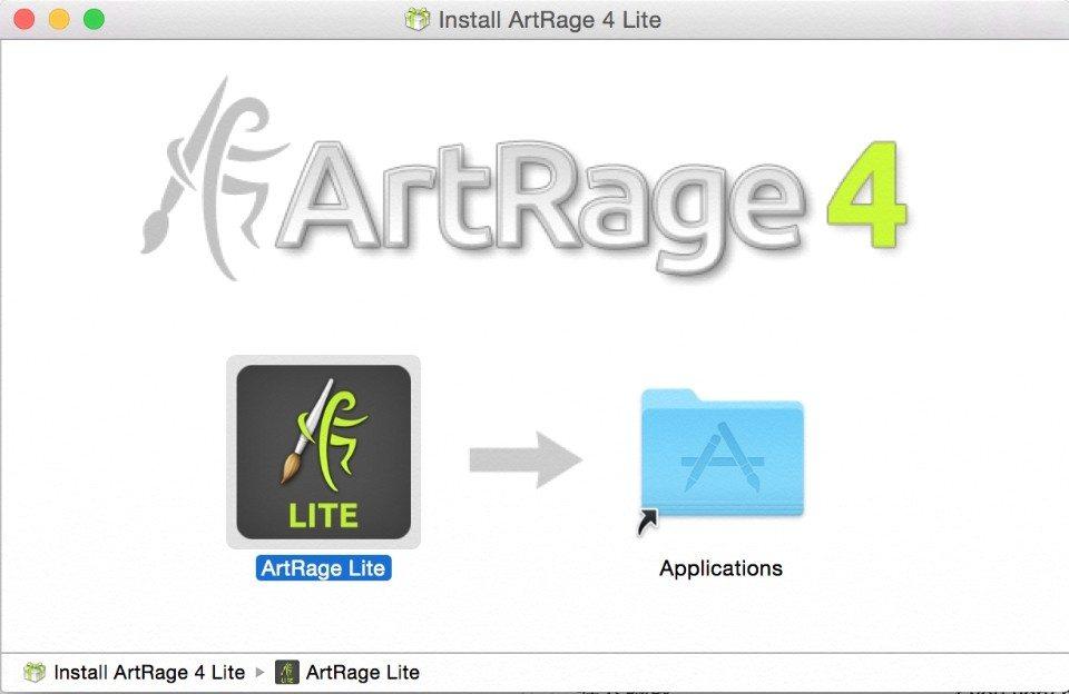 install artrage lite mac