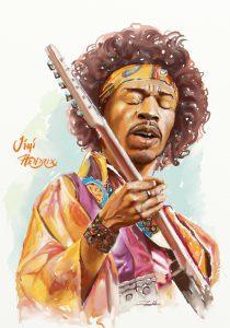 Jimi Hendrix final by Teoman Mete CAKICI