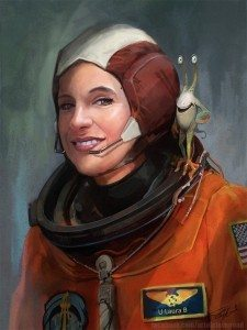 Lori the Astronaut by Steve Goad