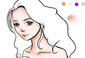 manga colour art felt pen