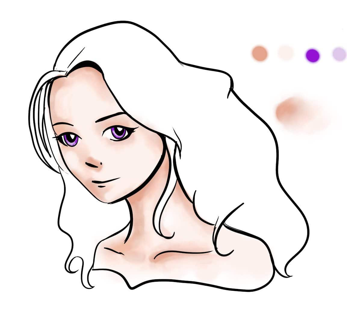 Drawing Art Colour Face