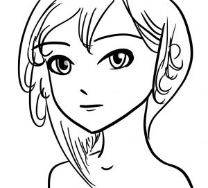 manga drawing line art
